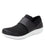 Qwik Black Top slip on smart shoes with Q-chip™ technology. QWI-5009_S1