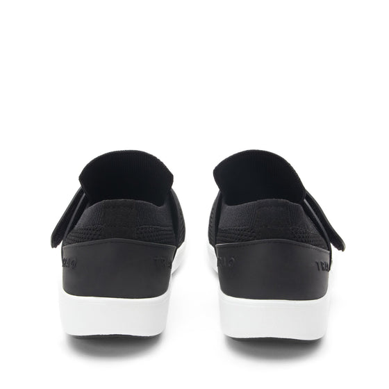 Qwik Black Top slip on smart shoes with Q-chip™ technology. QWI-5009_S4