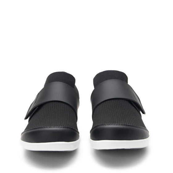 Qwik Black Top slip on smart shoes with Q-chip™ technology. QWI-5009_S7