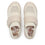 Qwik Peeps Cream slip on smart shoes with Q-chip™ technology. QWI-5102_S5