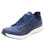 Qest Navy Multi lace-up smart shoes with q-chip technology. QES-5470_S1