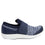 Qwik Flurry Blue slip on smart shoes with q-chip technology. QWI-5495_S2