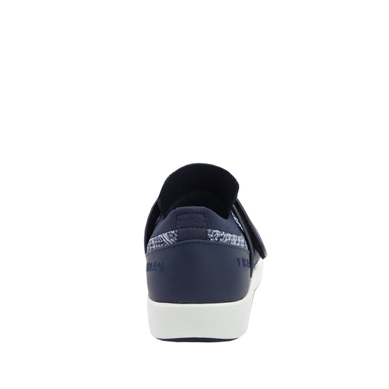 Qwik Flurry Blue slip on smart shoes with q-chip technology. QWI-5495_S3