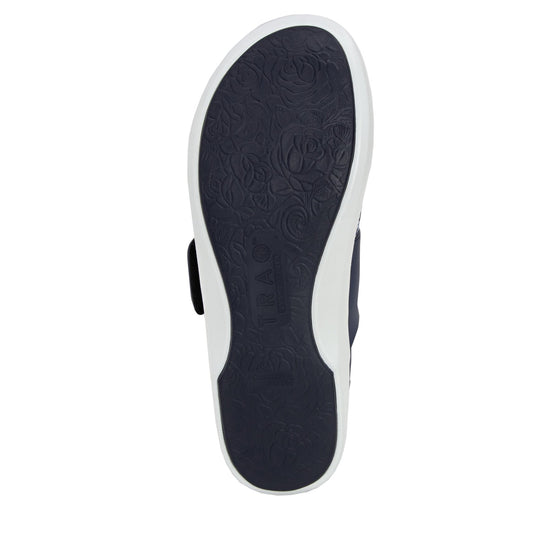 Qwik Flurry Blue slip on smart shoes with q-chip technology. QWI-5495_S5