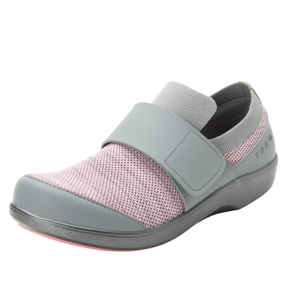 Qwik Pink Multi slip on smart shoes with q-chip technology. QWI-5682_S1