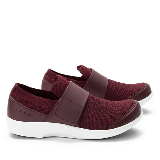 Qwik Wine Waves slip on smart shoes with Q-chip™ technology. QWI-5901_S2