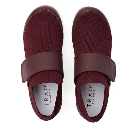 Qwik Wine Waves slip on smart shoes with Q-chip™ technology. QWI-5901_S4