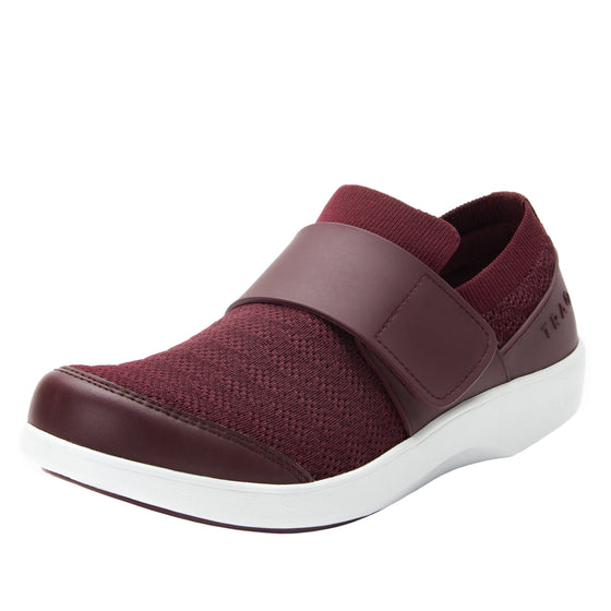 Qwik Wine Waves slip on smart shoes with Q-chip™ technology. QWI-5901_S7