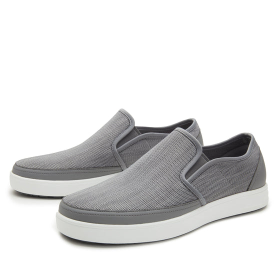 Sleeq Washed Grey smart slip-on boot that has the comfort of your favorite sneaker. SLE-M7052_S2