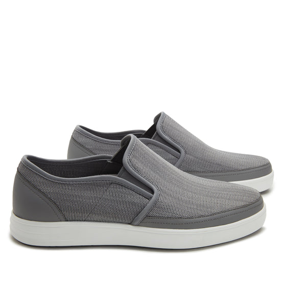 Sleeq Washed Grey smart slip-on boot that has the comfort of your favorite sneaker. SLE-M7052_S3