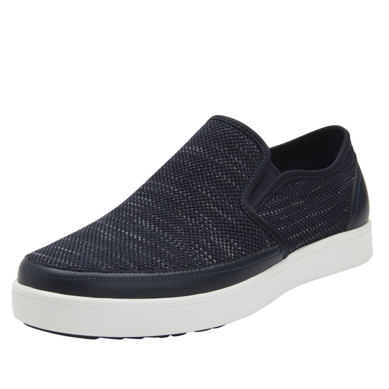 Sleeq Indigo smart slip-on boot that has the comfort of your favorite sneaker. SLE-M7402_S1