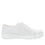 Sneaq White sneaker style smart shoes with q-chip technology. SNE-5100_S2