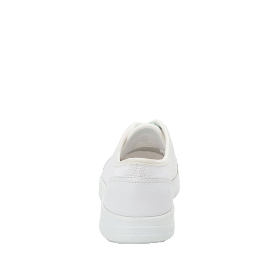 Sneaq White sneaker style smart shoes with q-chip technology. SNE-5100_S3