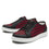 Sneaq Check Yeah Red sneaker style smart shoes with Q-chip™ technology. SNE-5601_S2