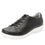 Cliq Black lace up smart shoes with Q-chip™ technology. CLI-5001_S1