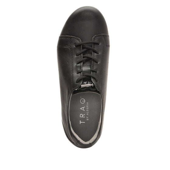 Cliq Black lace up smart shoes with Q-chip™ technology. CLI-5001_S4