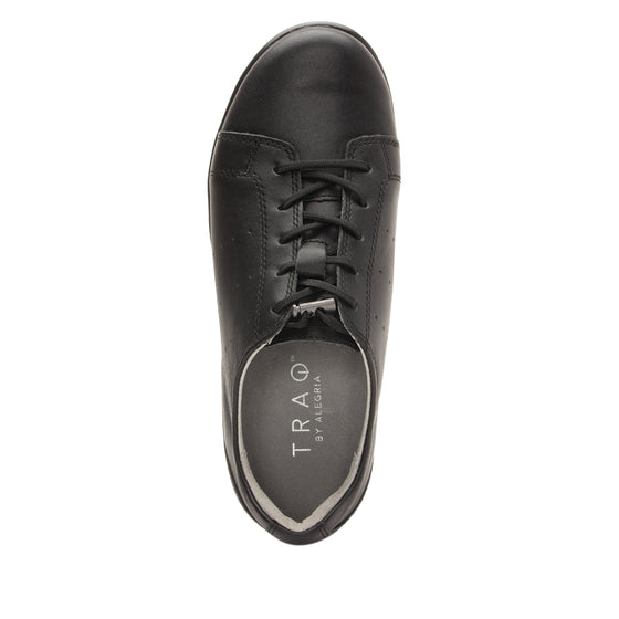 Cliq Black Out lace up smart shoes with Q-Chip technology. CLI-5002_S4