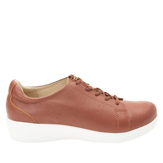 Cliq Tobacco lace up smart shoes with Q-Chip technology. CLI-5226_S2