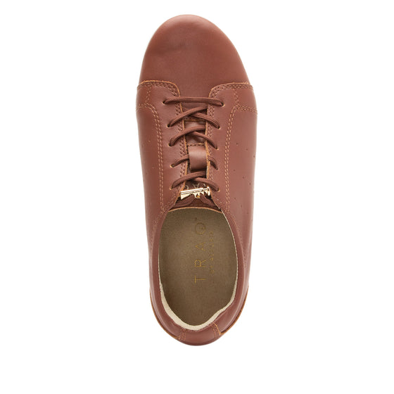 Cliq Tobacco lace up smart shoes with Q-Chip technology. CLI-5226_S4
