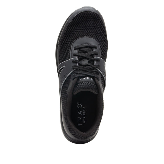 Qarma Paths Black smart shoes with q-chip technology. QAR-M7009_S4