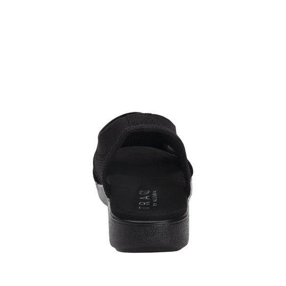 Qeen Black Out slip on sandal with Q-chip™ technology. QEE-5004_S3
