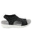 Qeen Funplex Black slip on sandal with Q-chip™ technology. QEE-5018_S2