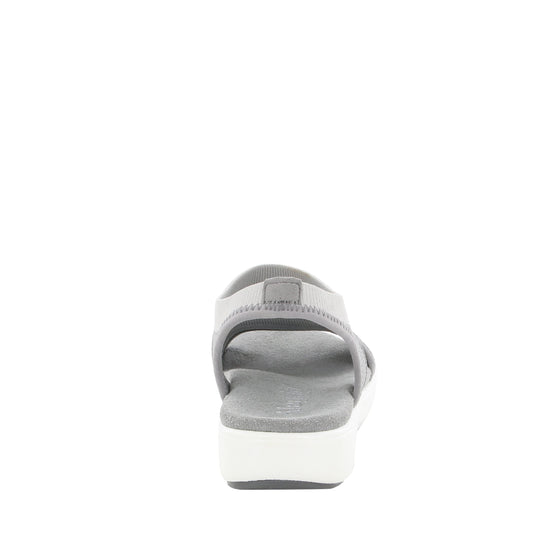 Qeen Grey slip on sandal with q-chip technology. QEE-5021_S3