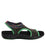 Qeen Funplex Lime slip on sandal with Q-chip™ technology. QEE-5310_S2