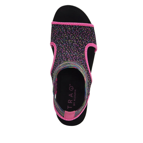 Qeen Funplex Purple slip on sandal with Q-chip™ technology. QEE-5505_S4