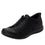 Qest Intersection Black lace up smart shoes with Q-chip™ technology. QES-5011_S1