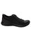 Qest Intersection Black lace up smart shoes with Q-chip™ technology. QES-5011_S2