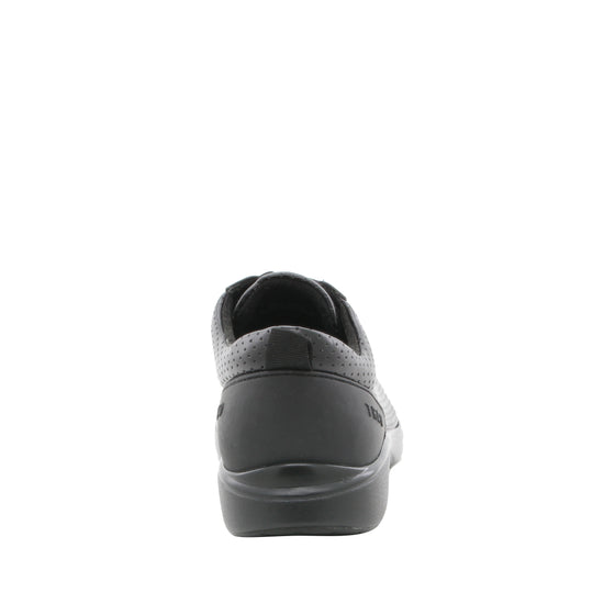 Qest Perf Black lace up smart shoes with Q-chip™ technology. QES-5019_S3