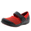 Qutie Red Black mary jane shoes with q-chip technology. QUT-5615_S1