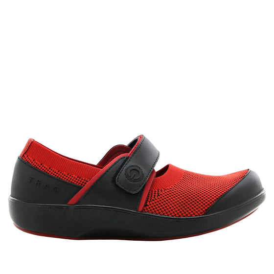 Qutie Red Black mary jane shoes with q-chip technology. QUT-5615_S2