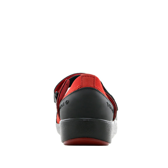 Qutie Red Black mary jane shoes with Q-chip™ technology. QUT-5615_S3