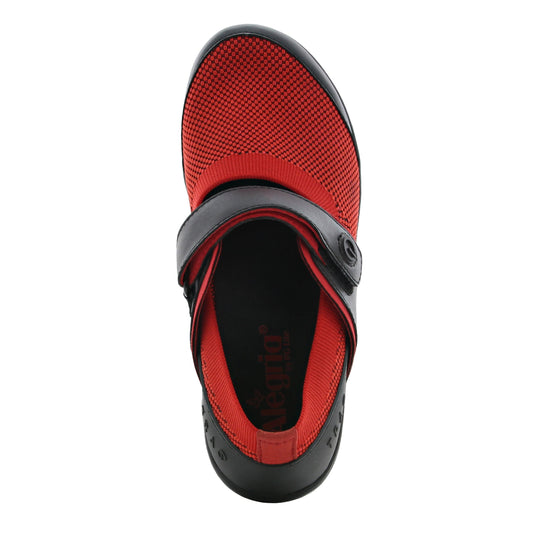 Qutie Red Black mary jane shoes with Q-chip™ technology. QUT-5615_S4