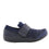 Qwik Navy Multi slip on smart shoes with Q-chip™ technology. QWI-5437_S2