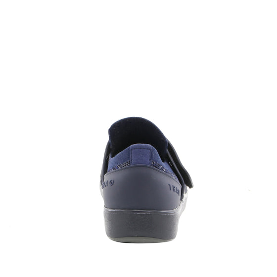Qwik Navy Multi slip on smart shoes with Q-chip™ technology. QWI-5437_S3