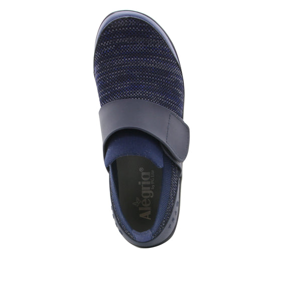 Qwik Navy Multi slip on smart shoes with Q-chip™ technology. QWI-5437_S4