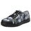 Sneaq Chillax Black sneaker style smart shoes with Q-chip™ technology. SNE-5019_S1