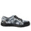 Sneaq Chillax Black sneaker style smart shoes with q-chip technology. SNE-5019_S2