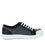 Sneaq Washed Black sneaker style smart shoes with Q-chip™ technology. SNE-5034_S2