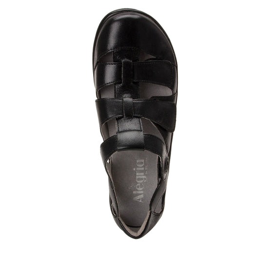 Treq Black Butter three adjustable strap shoes with Q-chip™ technology. TRE-5007_S4