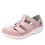 Treq Blush three adjustable strap shoes with q-chip technology. TRE-5650_S1
