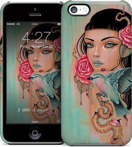Caia's Fancy Flash iPhone Case