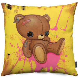 Fuzz Bottom Throw Pillow