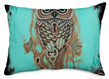 Load image into Gallery viewer, Bubo's Key Throw Pillow