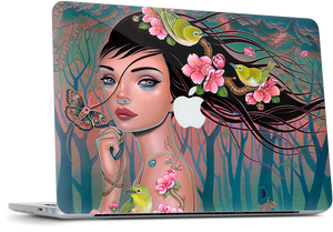 Laptop - Vernal Equinox MacBook Skin