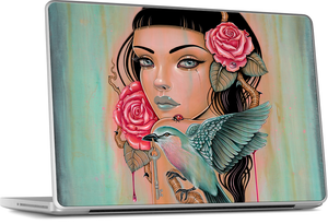 Laptop - Sanguine Skein MacBook Skin