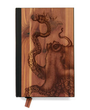 Load image into Gallery viewer, Laser Etched Cedar Journal